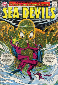 Cover Thumbnail for Sea Devils (DC, 1961 series) #17