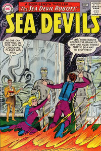 Cover Thumbnail for Sea Devils (DC, 1961 series) #19