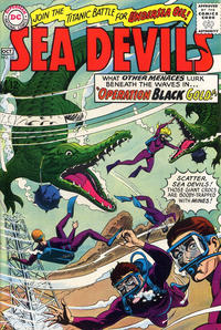 Cover Thumbnail for Sea Devils (DC, 1961 series) #25