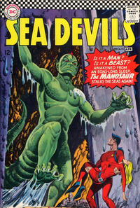 Cover Thumbnail for Sea Devils (DC, 1961 series) #28