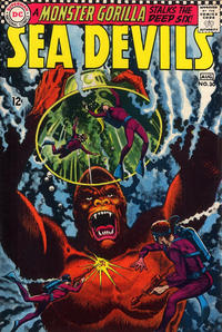 Cover Thumbnail for Sea Devils (DC, 1961 series) #30