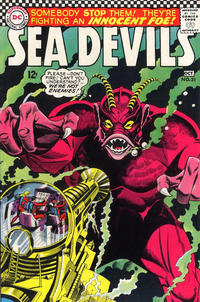 Cover Thumbnail for Sea Devils (DC, 1961 series) #31