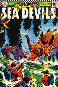 Cover Thumbnail for Sea Devils (DC, 1961 series) #34