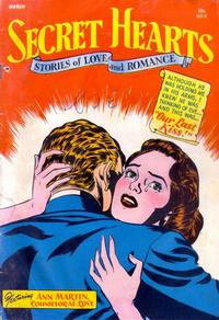 Cover Thumbnail for Secret Hearts (DC, 1949 series) #8