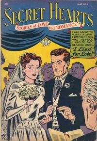 Cover Thumbnail for Secret Hearts (DC, 1949 series) #9