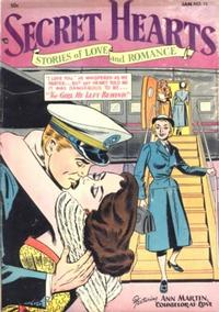 Cover Thumbnail for Secret Hearts (DC, 1949 series) #13