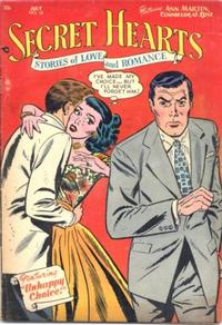 Cover Thumbnail for Secret Hearts (DC, 1949 series) #16