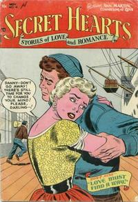 Cover Thumbnail for Secret Hearts (DC, 1949 series) #18
