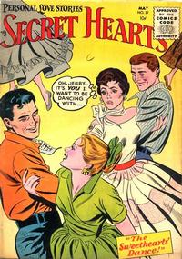 Cover Thumbnail for Secret Hearts (DC, 1949 series) #27