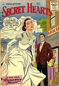 Cover Thumbnail for Secret Hearts (DC, 1949 series) #34