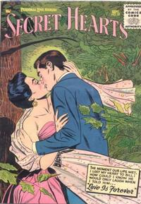 Cover Thumbnail for Secret Hearts (DC, 1949 series) #35