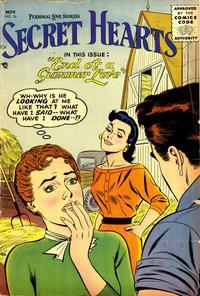 Cover Thumbnail for Secret Hearts (DC, 1949 series) #36