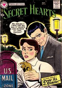 Cover Thumbnail for Secret Hearts (DC, 1949 series) #39