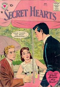 Cover Thumbnail for Secret Hearts (DC, 1949 series) #42