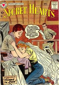 Cover Thumbnail for Secret Hearts (DC, 1949 series) #43
