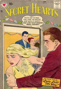 Cover Thumbnail for Secret Hearts (DC, 1949 series) #44