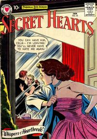 Cover Thumbnail for Secret Hearts (DC, 1949 series) #52