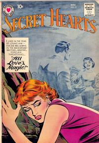 Cover Thumbnail for Secret Hearts (DC, 1949 series) #59