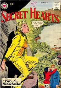 Cover Thumbnail for Secret Hearts (DC, 1949 series) #60