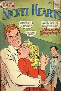 Cover Thumbnail for Secret Hearts (DC, 1949 series) #72
