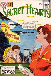 Cover Thumbnail for Secret Hearts (DC, 1949 series) #76