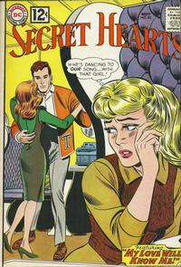 Cover Thumbnail for Secret Hearts (DC, 1949 series) #83