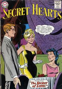 Cover Thumbnail for Secret Hearts (DC, 1949 series) #86