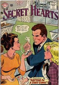 Cover Thumbnail for Secret Hearts (DC, 1949 series) #91