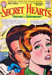 Cover Thumbnail for Secret Hearts (DC, 1949 series) #96
