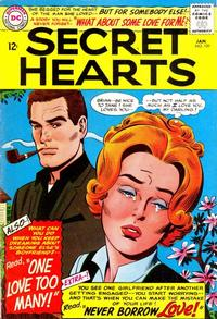 Cover Thumbnail for Secret Hearts (DC, 1949 series) #109