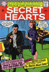 Cover Thumbnail for Secret Hearts (DC, 1949 series) #112