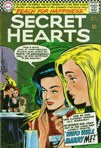 Cover Thumbnail for Secret Hearts (DC, 1949 series) #113