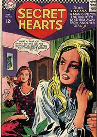 Cover Thumbnail for Secret Hearts (DC, 1949 series) #116