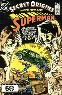Cover for Secret Origins (DC, 1986 series) #1 [Direct]