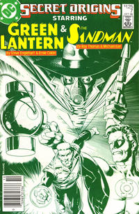 Cover for Secret Origins (DC, 1986 series) #7 [Direct Sales]