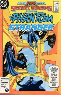 Cover for Secret Origins (DC, 1986 series) #10 [Newsstand Edition]