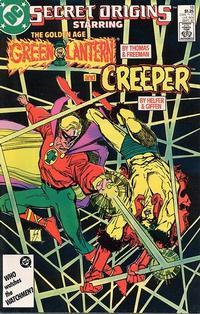 Cover for Secret Origins (DC, 1986 series) #18
