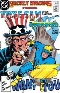 Cover for Secret Origins (DC, 1986 series) #19 [Newsstand]