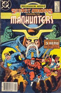 Cover Thumbnail for Secret Origins (DC, 1986 series) #22 [Newsstand]