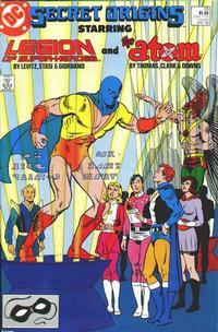 Cover for Secret Origins (DC, 1986 series) #25 [Direct]