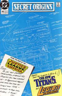 Cover Thumbnail for Secret Origins (DC, 1986 series) #46 [Direct]