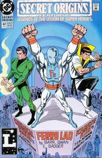 Cover for Secret Origins (DC, 1986 series) #47 [Direct]
