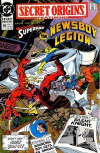 Cover Thumbnail for Secret Origins (DC, 1986 series) #49