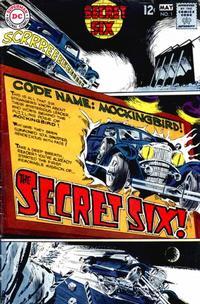 Cover Thumbnail for Secret Six (DC, 1968 series) #1