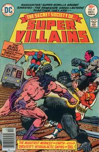 Cover Thumbnail for Secret Society of Super-Villains (DC, 1976 series) #4