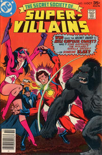 Cover Thumbnail for Secret Society of Super-Villains (DC, 1976 series) #10