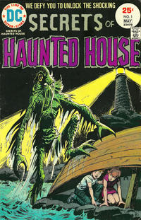 Cover Thumbnail for Secrets of Haunted House (DC, 1975 series) #1
