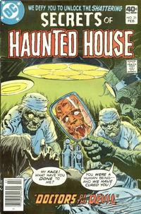 Cover Thumbnail for Secrets of Haunted House (DC, 1975 series) #21