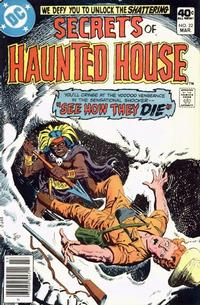 Cover Thumbnail for Secrets of Haunted House (DC, 1975 series) #22