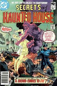 Cover Thumbnail for Secrets of Haunted House (DC, 1975 series) #24